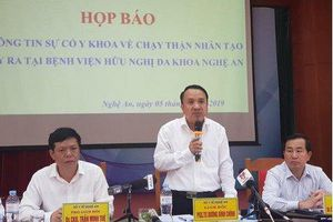 Nguyên nhân khiến 6 bệnh nhân ở Nghệ An gặp sự cố chạy thận nhân tạo