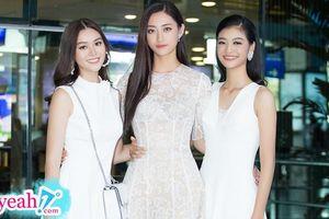 Top 3 Miss World Vietnam 2019 gây náo loạn sân bay Tân Sơn Nhất với vẻ ngoài xinh đẹp thuần khiết
