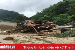 Huyện Quan Sơn: Một gia đình có 6 người mất tích do lũ