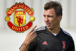 Mario Mandzukic đồng ý gia nhập M.U