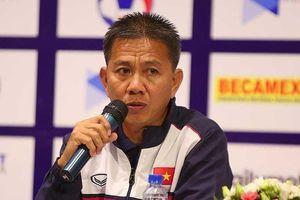 HLV Hoàng Anh Tuấn hứa đá đủ bảy trận của giải