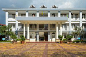 Trường chuyên Cao Bằng - nơi Hoa hậu Thùy Linh từng theo học