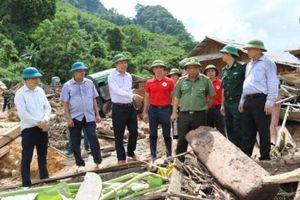 Thông tin mới nhất về tình hình mưa lũ tại Quan Sơn - Thanh Hóa
