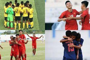 Việt Nam đụng độ Malaysia ở bán kết Giải U.15 Đông Nam Á