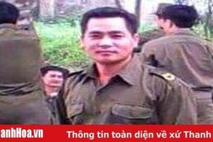 Truy tặng Bằng khen của Chủ tịch UBND tỉnh cho Trưởng Công an xã Nhi Sơn hi sinh trong mưa lũ