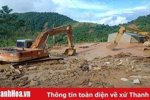 Huyện Mường Lát khẩn trương khắc phục thiệt hại do mưa lũ, ổn định đời sống nhân dân