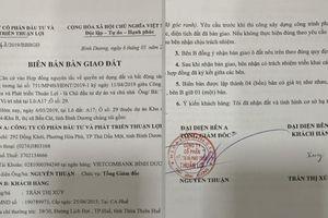Vụ 'xẻ thịt' đất công bán trái phép tại Bình Dương: Khách hàng đồng loạt gửi đơn tố cáo Công ty Thuận Lợi