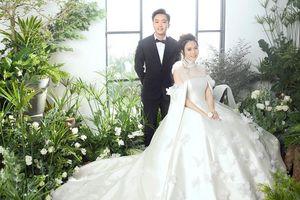 Đàm Thu Trang lần đầu hé lộ về chiếc váy cưới đặc biệt trong hôn lễ