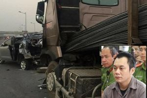 Tài xế container đâm ô tô Innova lùi trên cao tốc khiến 4 người chết bị tạm giam thêm 50 ngày