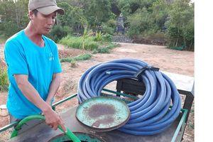 Phú Yên: Thuê phương tiện chở nước sinh hoạt phục vụ người dân