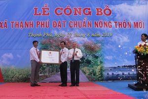 Xã có hơn 50% đồng bào Khmer đạt chuẩn nông thôn mới