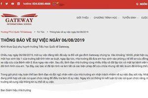 Bản thông báo vô cảm và lập lờ của trường quốc tế Gateway vụ học sinh bị bỏ quên trên xe đưa đón tử vong