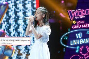 Nhân tố tỏa sáng tập 3 - The Voice Kids 2019: Thần đồng hát tiếng Anh - Vũ Linh Đan sở hữu tiết mục 'triệu view'