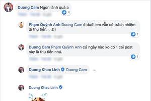 Dương Cầm - Dương Khắc Linh - Ali Hoàng Dương thách nhau hít đất, Phạm Quỳnh Anh kiểm tra và 'thu tiền'