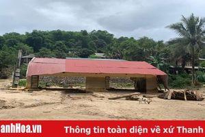Ngành giáo dục Thanh Hóa thiệt hại nặng nề do mưa lũ