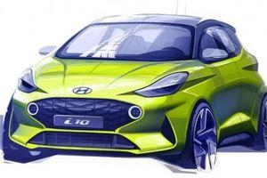 Hyundai Grand i10 2020 bất ngờ 'lộ hàng' trước ngày ra mắt - Bứt phá mãnh liệt