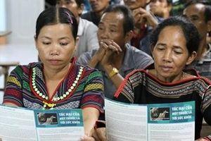 Điểm sáng trong phòng, chống tác hại của thuốc lá ở Đắk Lắk