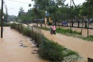Nhiều huyện của Lâm Đồng ngập sâu trong nước
