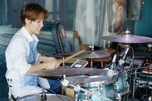 Vũ Cát Tường tất bật tập luyện cho đêm nhạc tại Hà Nội