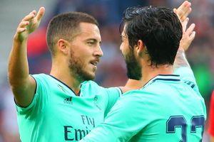 Hazard ghi bàn thắng đầu tiên trong màu áo Real Madrid