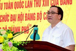 Bí thư Thành ủy Hoàng Trung Hải: Chuẩn bị đại hội phải gắn với thực hiện nhiệm vụ thường xuyên