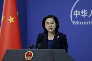 Bị cảnh báo, Trung Quốc hối thúc Mỹ 'tôn trọng luật pháp quốc tế'