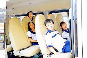 Đảm bảo an toàn cho học sinh khi đi xe đưa đón