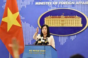 Tàu Hải Dương 8 của Trung Quốc đã rời khỏi vùng biển Việt Nam