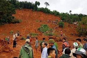Đắk Nông: Mưa lớn gây sạt lở đất, chôn vùi 3 người trong một gia đình