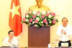 Phó Thủ tướng chủ trì khảo sát tình hình thực hiện Chỉ thị số 39 của Ban Bí thư