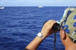 Nhóm tàu khảo sát Trung Quốc Hải Dương 8 đã rời khỏi thềm lục địa của Việt Nam