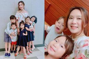 Bà xã Lý Hải tiết lộ 9 cái 'sướng' của việc đông con mà không phải ai cũng biết