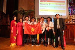 Việt Nam lọt Top 5 cuộc thi học sinh giỏi toán quốc tế tại Nam Phi