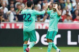 Hazard 'nổ súng', Real giành chiến thắng trên đất Áo
