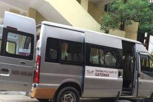 Bé lớp 1 tử vong trong ô tô: Tài xế mới mua xe, chạy thuê cho Gateway