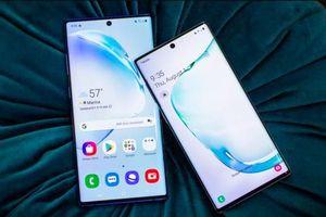 Cận cảnh bộ đôi Samsung Galaxy Note10 và Note10 Plus đẹp nhức mắt Samsung vừa trình làng