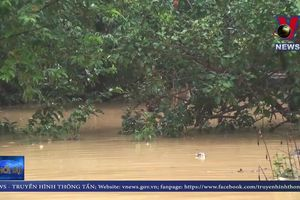 Bình Phước giải cứu thành công 2 người mắc kẹt trong nước lũ