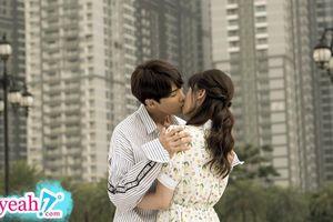 Hari Won nói gì về Trấn Thành sau khi đóng cảnh hôn với 'Oppa' trong phim ?