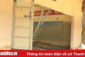 Học sinh Sa Ná sẽ học tạm ở gầm nhà sàn