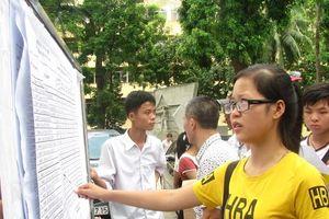 Bắt đầu công bố điểm chuẩn các trường đại học, cao đẳng