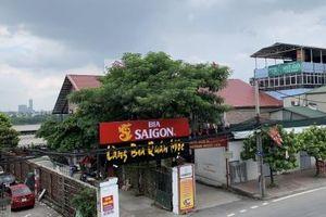 Quận Long Biên, Hà Nội:Nhiều công trình xây dựng trái phép, lấn chiếm hành lang thoát lũ sông Hồng