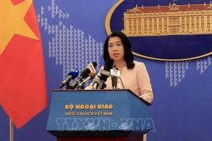 Tàu Hải Dương 8 của Trung Quốc đã rời khỏi thềm lục địa của Việt Nam