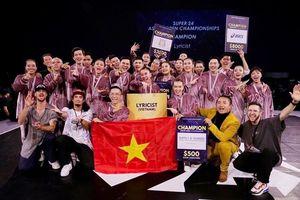 Nhóm vũ công Việt đăng quang tại cuộc thi nhảy Đông Nam Á Super 24