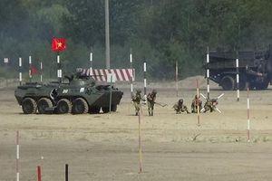 Hội thao Quân sự quốc tế: Đội tuyển Công binh thắng Kyrgyzstan vào đấu chung kết