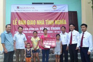 Agribank Chi nhánh Thành Sen khởi công, bàn giao 6 nhà tình nghĩa
