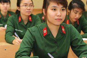 Đầy đủ nhất điểm chuẩn trúng tuyển vào các học viện, trường Quân đội năm 2019