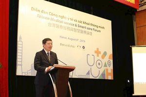 Chăm sóc y tế thông minh sử dụng công nghệ nhân tạo AI đang là xu hướng tại Đài Loan và Việt Nam