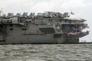 Tàu sân bay Mỹ neo ở Philippines, cam kết duy trì an ninh ở Biển Đông
