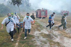 Đắk Lắk lên tiếng việc diễn tập phòng cháy rừng trong ngày ngập lụt