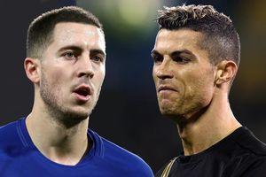 Eden Hazard được khoác áo số 7 của Real Madrid
